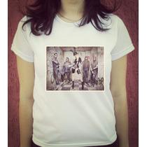 Babylook Camiseta Estampada In This Moment - Maria Brink