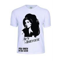 Camisas Camisetas Amy Winehouse Punk Reggae Rap Rock Música