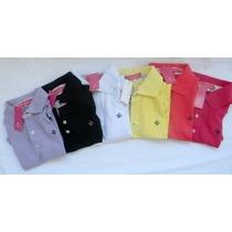 Kit 6 Camisa Polo Feminina Importada Liquidação 2015 Cr