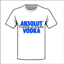 Camiseta Personalizda - Absolut
