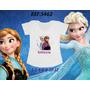Camiseta Infantil Frozen Anna Elsa Olaf - Dora - Diego Go