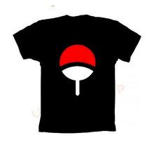 Camiseta Naruto Clã Uchiha - Camisa Sasuke