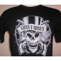 Camiseta Bandas Rock - Guns N