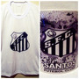 Combo Kit Time Santos = Camiseta + Caneca