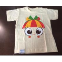Camiseta Infantil Emília Globo Marcas Sítio Do Pica-pau