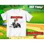 Camiseta Infantil- Kung Fu Panda Dora Go Diego Go