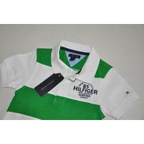 Camiseta Gola Polo Infantil Tommy Hilfiger - Cores -original