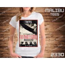 Baby Look Led Zeppelin Banda Rock Camiseta