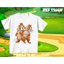 Camiseta Infantil- Tico E Teco Dora Go Diego Go Personagens