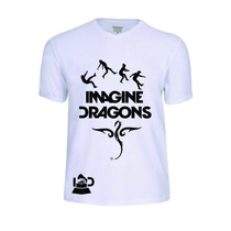 Camisas Camisetas Imagine Dragons Reggae Rap Rock Baby Look