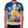 Camisa, Camiseta Dragon Ball Z - Estampa Total