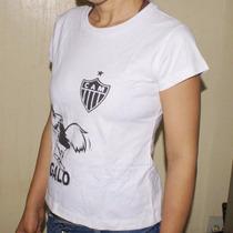 Lote C/10 Camisetas Feminina Baby Loock 100%algodão P E M