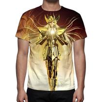 Camisa, Camiseta Cavaleiros Do Zodíaco Shaka De Virgem