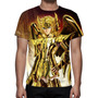 Camisa, Camiseta Cavaleiros Do Zodíaco Hyoga De Cisne