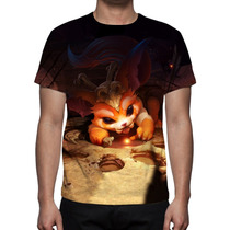 Camisa, Camiseta League Of Legends Gnar Yordle Pre Historico
