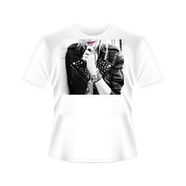 Camisetas Mulher Loira Jaqueta Tradicional Ou Babylook