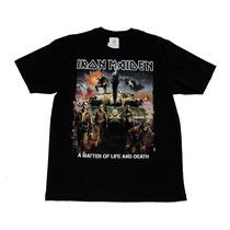 Camiseta De Banda - Iron Maiden - A Matter Of Life And Death