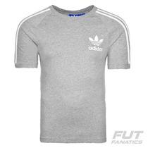 Camiseta Adidas Sport Essentials Originals Cinza