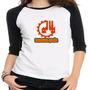 Camiseta Raglan Engenharia Química - Feminina