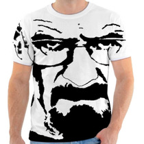Camiseta Camisa Breaking Bad Walter White