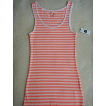 Gap Camiseta Regata Feminna Importada Original Tam P