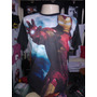 Camiseta Homem De Ferro Mark 6,camiseta Vingadores ,avengers