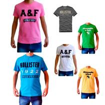 Camisetas Hollister, Abercrombie E Armani Originais.
