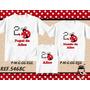 Kit Camisetas Personalizadas Aniversário Joaninha/ Safari