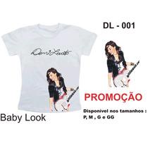 Camiseta Demi Lovato Excluisiva