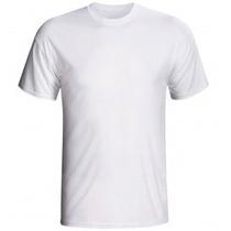 Camisetas 100% Poliester Lisas Para Sublimação Varejo E Atac