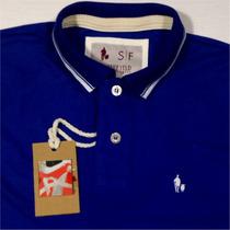 Sheepfyeld Original Qualid. De Importada Camiseta Polo Royal