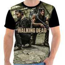 Camisa, Camiseta The Walking Dead - 02 Front - Zurc