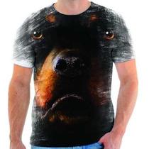 Camiseta De Hottweiler,cachorro,animal,estampada 1