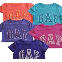 Camisetas Gap Kids Logo Com Paetês Meninas
