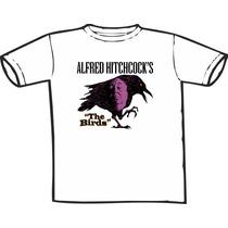 Camiseta Pássaros Hitchock Estampas Exclusivas Só Nós Temos!