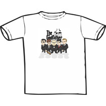 Camiseta Poderoso Chefão Estampas Exclusivas! Só Nós Temos!