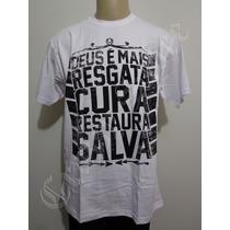 Camiseta Thiagão Deus É Mais Rap Gospel Resgata Crazzy Store