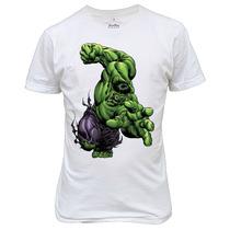 Camiseta Ou Baby Look Hulk Marvel Vingadores Exclusiva