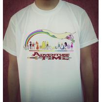 Camiseta Desenho Hora De Aventura Finn Jake Frete Gr[atos