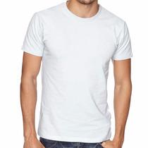10 Camiseta Lisa 100% Poliéster P/ Sublimação Frete Gratis