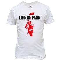 Camiseta Linkin Park Banda De Rock Promoção