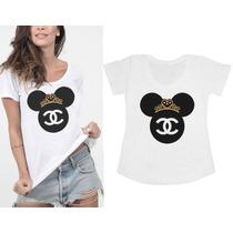 Camisetas Personalizadas - T-shirts Femininas - Atacado