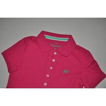 Camiseta Gola Polo Feminina Aéropostale - Cores - Original