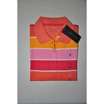 Camiseta Gola Polo Juvenil Feminina Tommy Hilfiger -original
