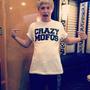 Camiseta 1d One Direction Crazy Mofos