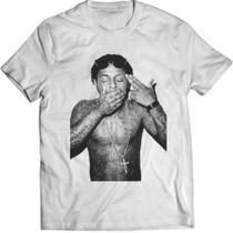 Camiseta Masculina Manga Curta Sublimação Lil Wayne