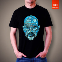 Camiseta Breaking Bad Walter White Tv E Seriado Serie Camisa