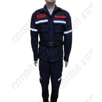 Uniforme Tático Bombeiro Civil - Bombeiros - Azul