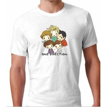 Camiseta 1d One Direction Desenho Animado