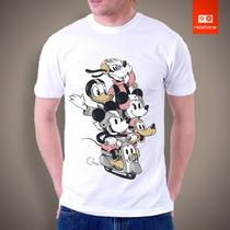 Camisetas Tv E Desenhos - Tturma Do Mickey
